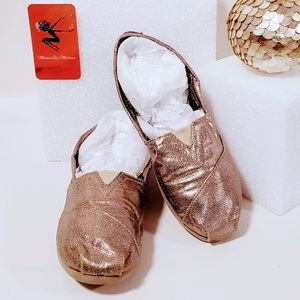 Skechers Shoes - Bobs by sketchers gold slip on flats size 6M🦄💋